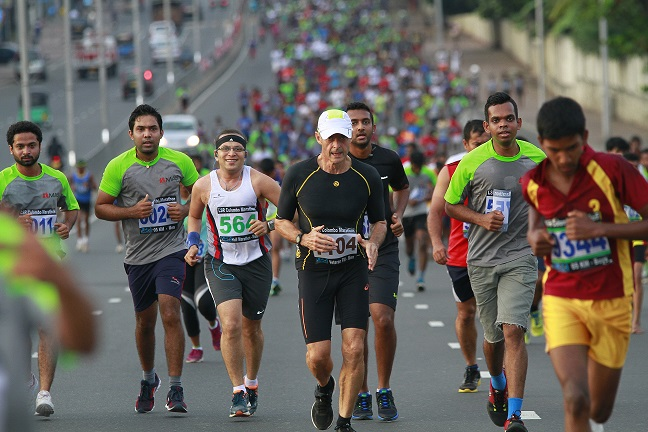 17th edition of Colombo Marathon on October 8